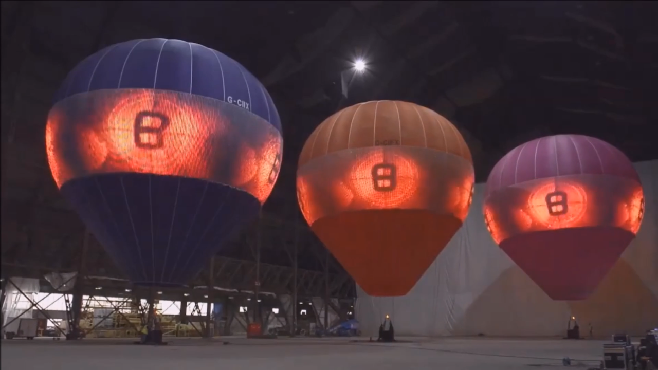 LED hot AIR Balloons